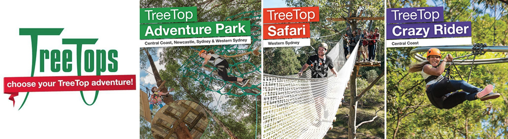 TreeTop Adventure Park | Sydney - The Hills