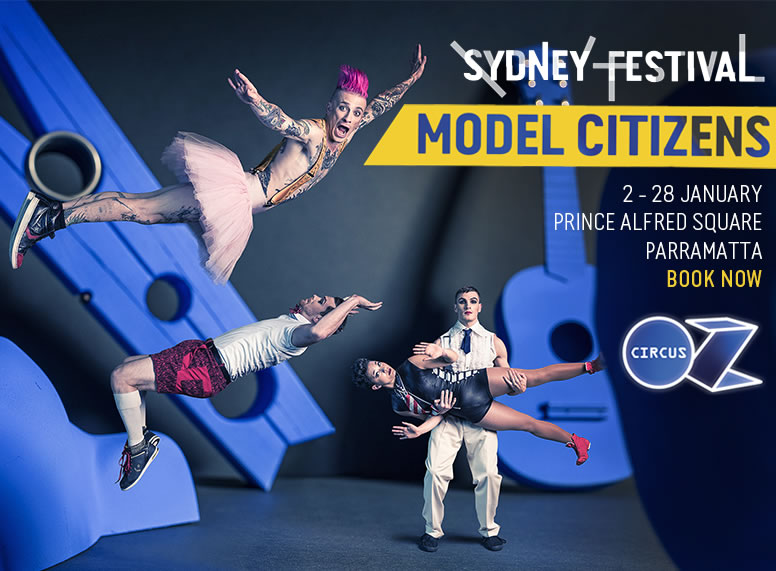 Model Citizens presented by Circus Oz and Sydney Festival