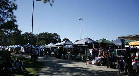 Davies Park West End Markets