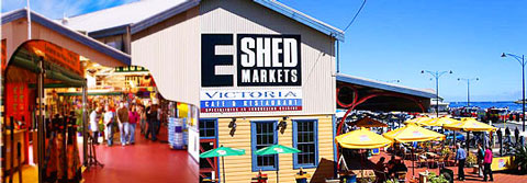 View Event: E Shed Markets