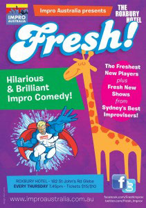 View Event: Fresh Impro at the Roxbury Hotel
