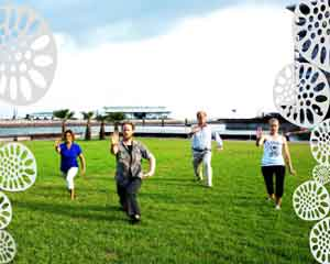 Tai Chi Classes on Darwin Waterfront